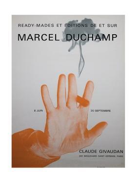 Exhibition Poster for 'Ready-Mades Et Éditions De Et Sur Marcel Duchamp'