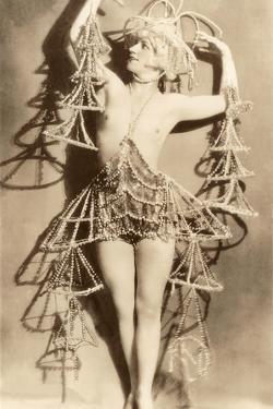 Exotic Dancer in Wild Costume