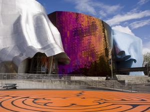 Experience Music Project at the Seattle Center, Seattle, Washington State, USA