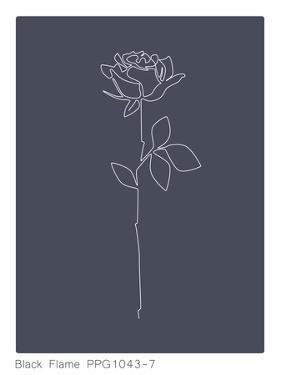 Black Flame Rose by Explicit Design