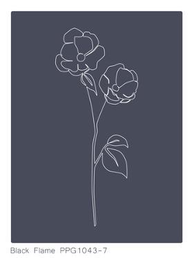 Blossom Black Flame by Explicit Design