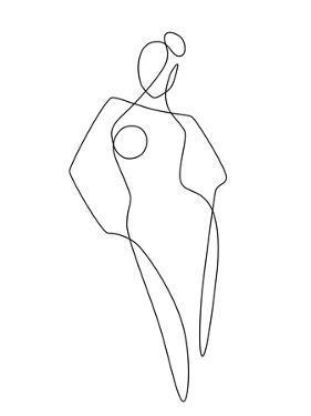 Continuous Line Female by Explicit Design