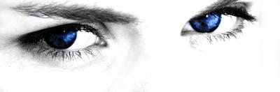 Kobalt Eyes by Exploding Art