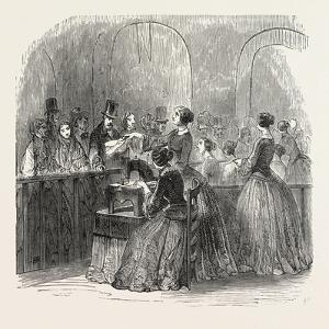 Expo 1855. Sewing Machine. Paris
