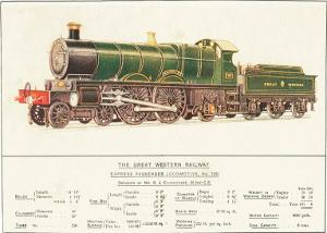 Express Passenger Locomotive, No.190, Great Western Railway