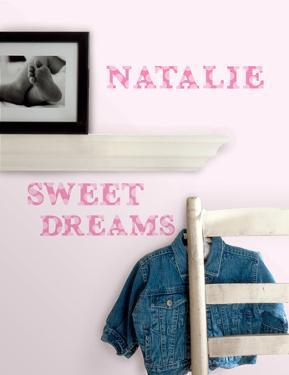 Express Yourself Pink Peel & Stick Wall Decals