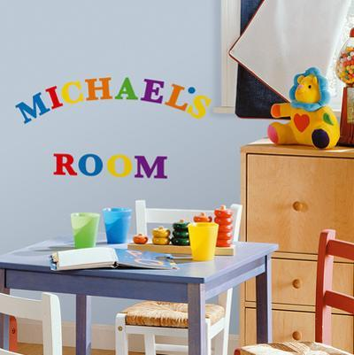 Express Yourself Primary Peel & Stick Wall Decals