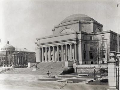 Exterior of Columbia University