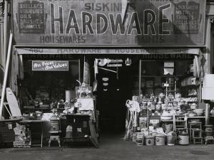 Exterior of Hardware Store