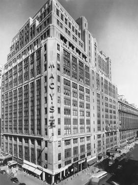 Exterior of Macy's Department Store
