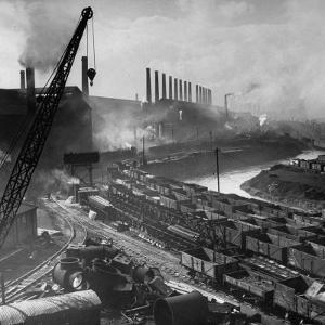 Exterior of Peech and Tozer Steel Mill