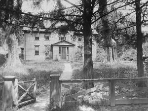 Exterior of the Orchard House Homestead for Louisa May Alcott