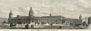 Exterior of the Smithfield New Metropolitan Meat and Poultry Market, London