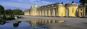 Exterior, Sanssouci Palace, Potsdam, Germany