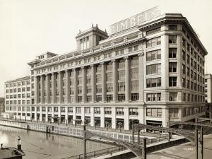 Exterior View of Gimbels Department Store