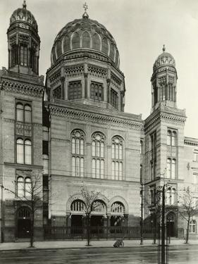 Exterior View of Synagogue