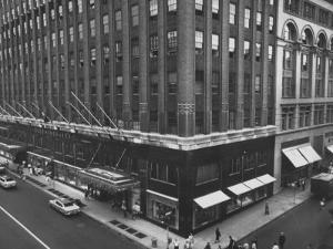 Exterior View of the Bloomingdales Department Store