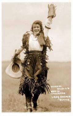 Exultant Cowgirl