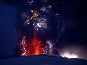 Eyjafjallajokull Volcano, Iceland