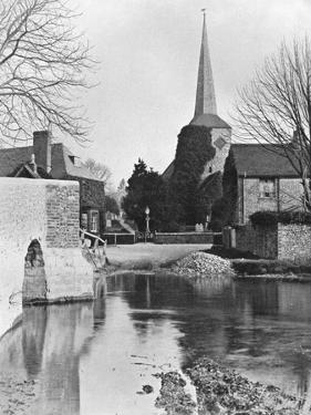 Eynsford, Kent, 1924-1926 by E Bastard