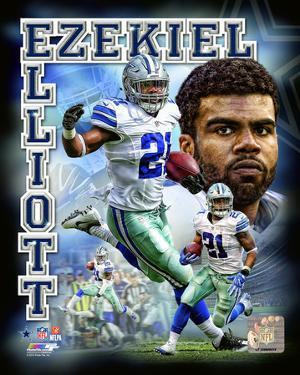 Ezekiel Elliott 2016 Portrait Plus