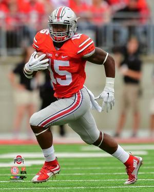 Ezekiel Elliott Ohio State Buckeyes 2015 Action