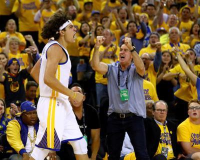 2016 NBA Finals - Game Five by Ezra Shaw