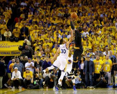 2016 NBA Finals - Game Seven by Ezra Shaw