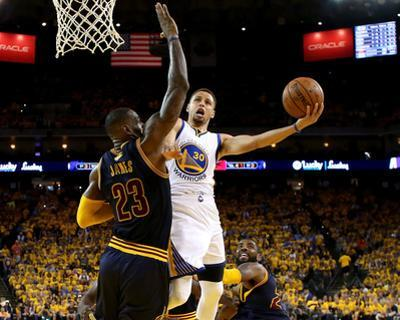 2016 NBA Finals - Game Two by Ezra Shaw