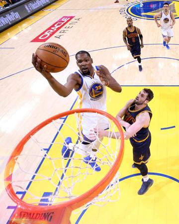 2017 NBA Finals - Game One by Ezra Shaw