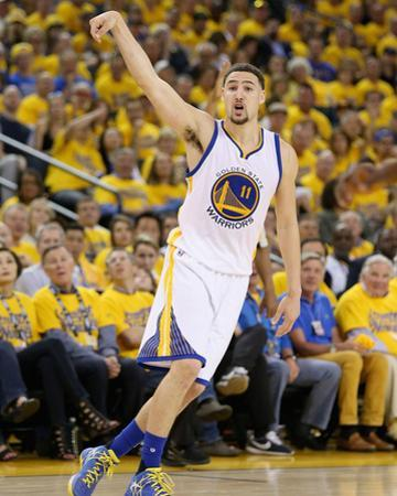 Portland Trail Blazers v Golden State Warriors - Game One by Ezra Shaw