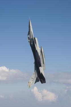 F-16C Fighting Falcon During a Sortie over Arizona