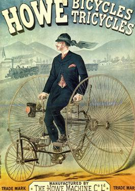 Howe, Bicycles, Tricycles by F. Appel