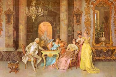 The Chess Game by F. Beda