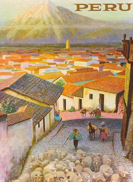 Cusco, Peru c.1950's by F.C. Hannon