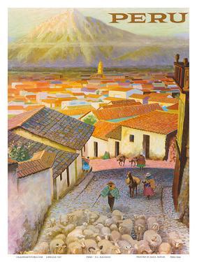 Cusco, Peru c.1950's by F^C^ Hannon