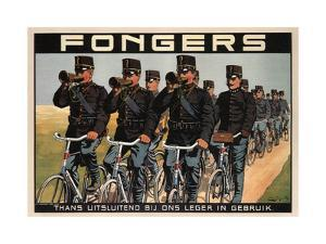 Fongers Cycles, 1915 by F. G. Schlette