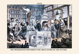 Puck Magazine: The Prohibition Movement by F. Graetz