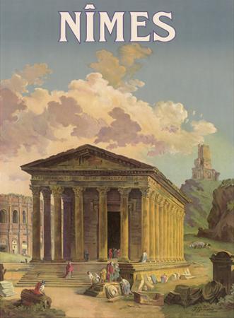 Nîmes, France - Maison Carrée Roman Temple