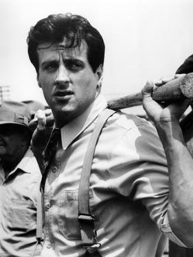 F.I.S.T., 1978 directed by NORMAN JEWISON Sylvester Stallone (b/w photo)