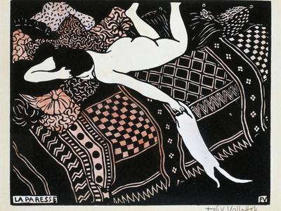 La Paresse, 1896
