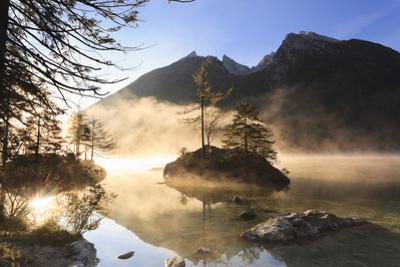 Lake Hintersee, Bavaria, Germany by F. Lukasseck