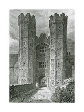 Oxburgh Hall, Norfolk by F Mackenzie