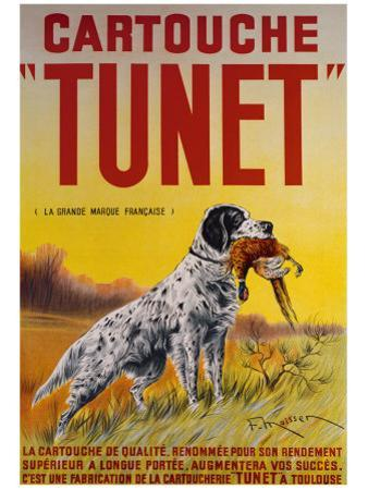 Cartouche Tunet by F. Maisser