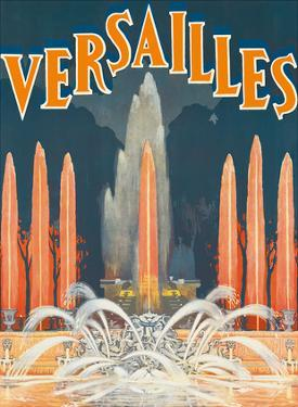 Versailles, France c.1930 by F^ Prodhomme
