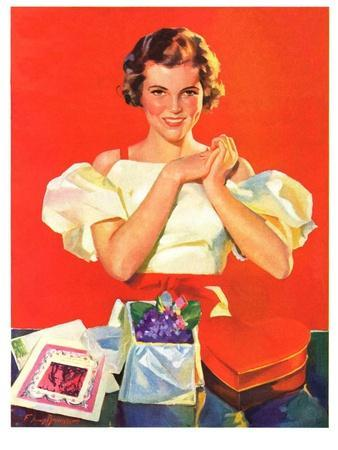 """""""Valentine's Gifts,""""February 16, 1935"""