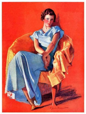 """""""Woman in Chair,""""September 1, 1934"""
