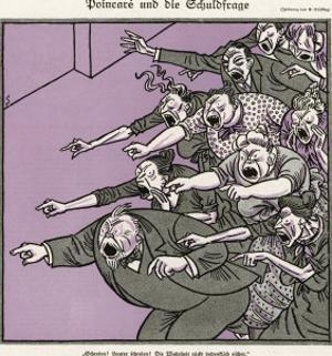 An Angry Crowd by F. Schilling