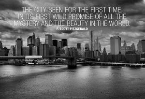 F. Scott Fitzgerald New York Quote