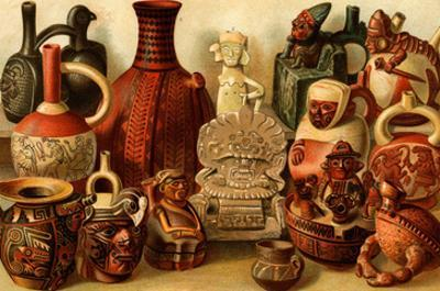 South American Indian Antiquities by F.W. Kuhnert
